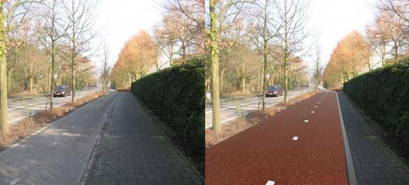 via44 Snelfietsroute Via 44 Den Haag   Leiden bijna klaar