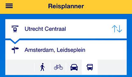 nieuwe ns reisplanner xtra toont actuele info van bus tram en metro