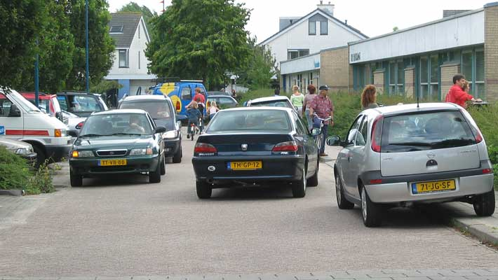verkeerssituatie bij school