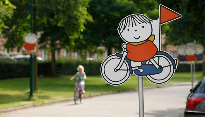 nudging, Nijntje, verkeersbord, snelheid, kinderen