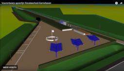 Ontwerp spoorstuk Roodeschool - Eemshaven