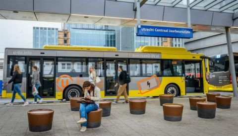 Elektrische Bus Utrecht Lijn 1