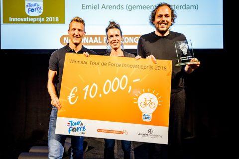 Rotterdam krijgt Tour de Force-prijs FOTO Martin Hols
