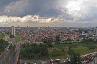 Antwerpen van boven. FOTO stad Antwerpen
