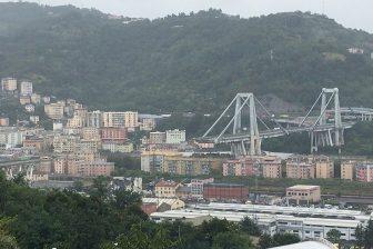 De Morandibrug in Genua. FOTO Wikimedia/Salvatore1991