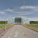 De testlocatie bij de TU Delft. FOTO Google Maps