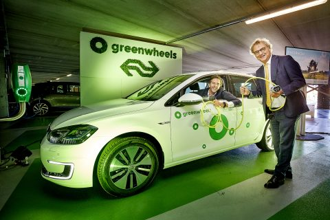 Nieuwe elektrische Greenwheels FOTO Greenweels