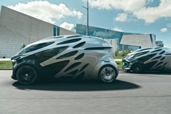 De Vision Urbanetic. FOTO Mercedes-Benz Vans