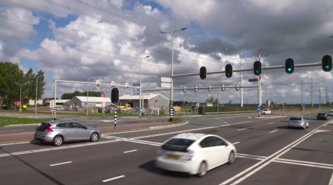iVRI en slimme cruise control Noord Holland. FOTO Provincie Noord Holland