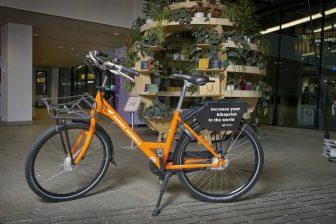 Een fiets van Donkey Republic. FOTO Gemeente Utrecht/Willem Mes