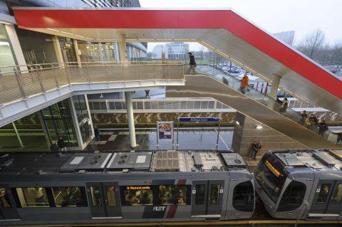 Metro Rotterdam RET FOTO Rick Keus