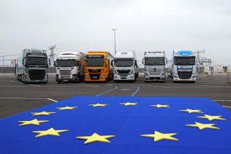 EU truck platooning