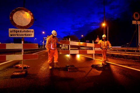 Start werkzaamheden Velsertunnel. FOTO XTNT