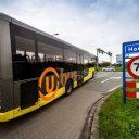Een U-OV-bus in Houten. FOTO Provincie Utrecht