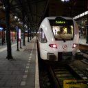 TO test Arriva testtrein Station Groningen FOTO Hylke Knot