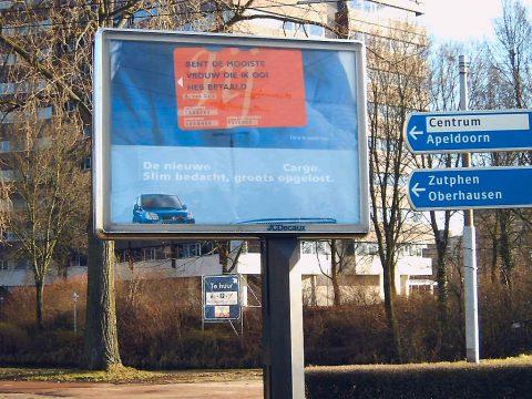 Billboard, reclame langs de weg WikiMedia