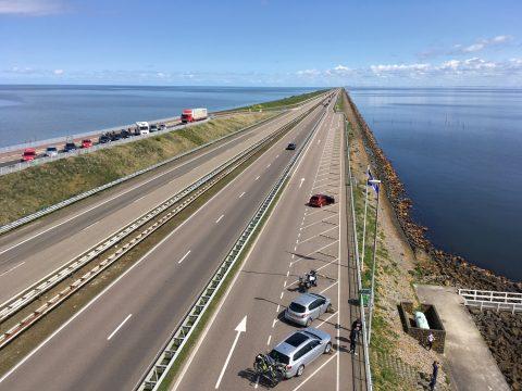 Afsluitdijk, foto BAM Infra