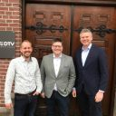 Hans Godefrooij, Willem Buijs en Paul van den Bosch FOTO DTV Consultants