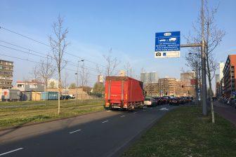 Ook Rotterdam hanteert een milieuzone. FOTO VerkeersNet