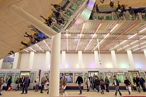 Metro Rotterdam. FOTO RET/Robin Utrecht