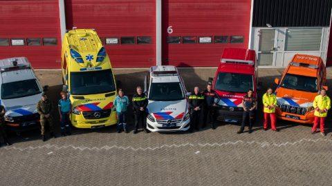 Nieuwe stepen hulpdiensten FOTO Politie