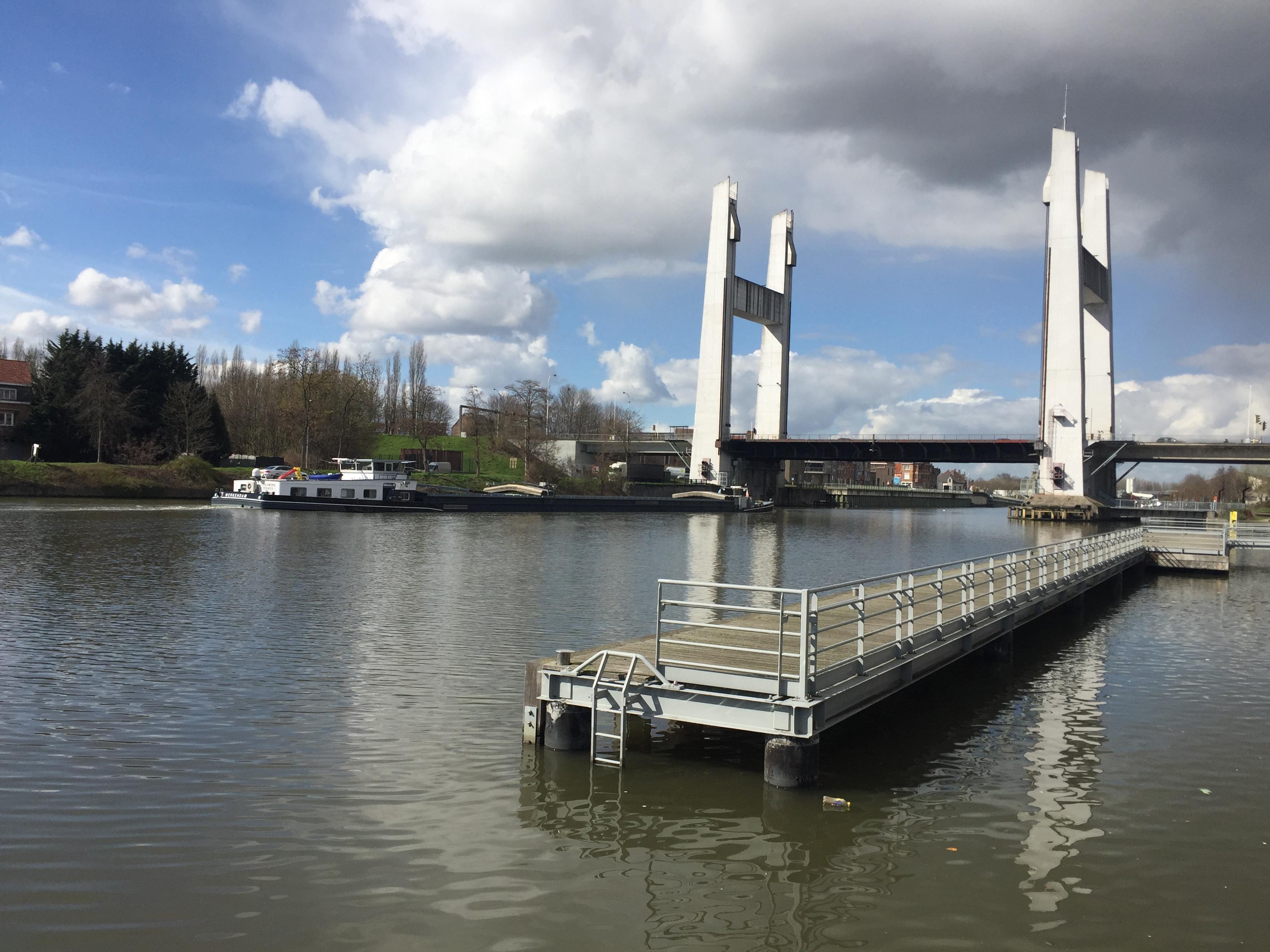 Het Zeekanaal Schelde-Brussel FOTO VerkeersNet