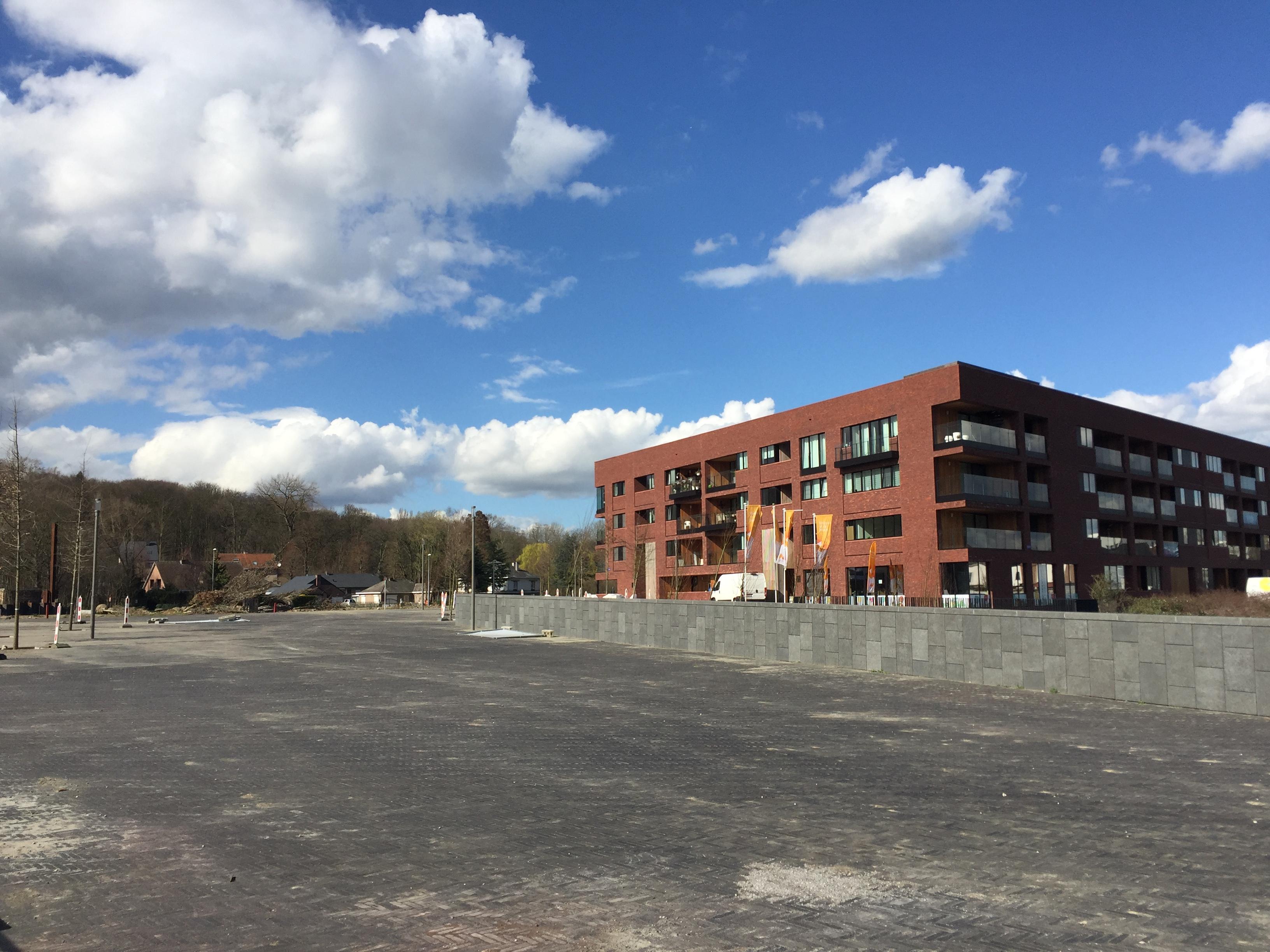 Het plein aan de rand van Watersite FOTO VerkeersNet