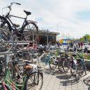De fietsenstalling aan de zuidzijde van station Zwolle FOTO VerkeersNet