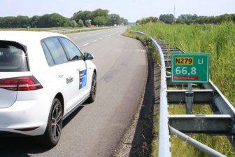 In Noord Brabant start een proef om wegbeheerders te voorzien van data uit sensoren van auto's. FOTO Provincie Noord Brabant