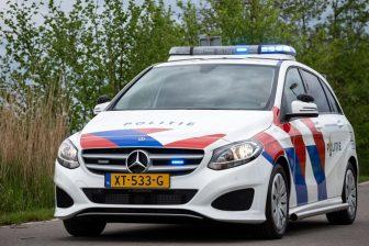 Mercedes-b politiewagen. FOTO Politie