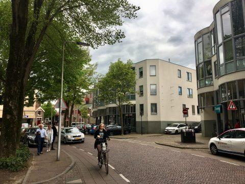 Fietser voetganger automobilist straatomgeving Deventer FOTO VerkeersNet