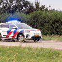 Emissieloze politieauto. FOTO Politie