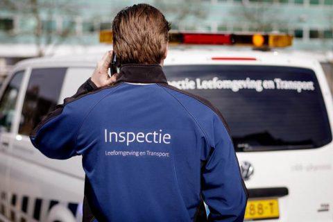 Weginspecteur Inspectie Leefomgeving en Transport BEELD ILENT