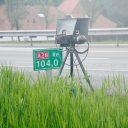 Flitser langs snelweg BEELD Wikimedia