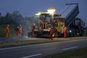 Asfalteren Boskalis BEELD Provincie Zuid-Holland