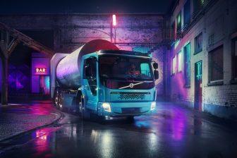 Elektrische Volvo BEELD Persafbeelding Volvo