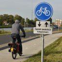Speed-pedelec op fietspad. BEELD Provincie Groningen