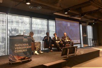 Debat over verkeerskunde tijdens NVC 2019 BEELD VerkeersNet