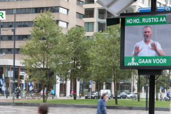 Interventie oversteken Weena BEELD Gemeente Rotterdam