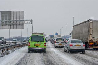 Snelweg A9 richting Alkmaar BEELD beeldbank.rws.nl, Rijkswaterstaat / Tinelou van der Elsken