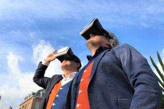 VR-bril parkeren BEELD Spark
