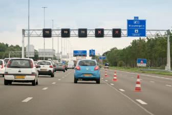 Rood kruis. Foto: Rijkswaterstaat
