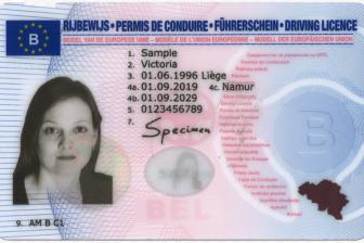 Belgisch rijbewijs dec 2019 BEELD Archief Rijschoolpro