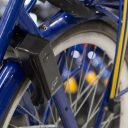 Slot OV-fiets met OV-chipkaart BEELD NS