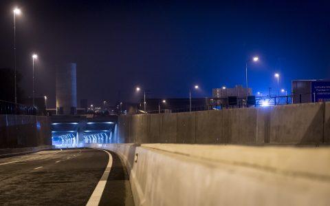 Coentunnel. Foto: ANP / Lex van Lieshout