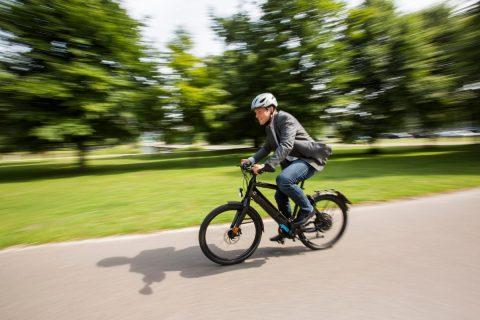Speed-Pedelec BEELD: IenW/Bart van Vliet