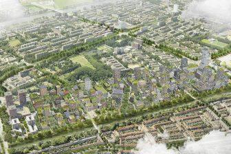 Merwedekanaalzone stadswijk Merwede deelgebied 5 BEELD marco.broekman en OKRA