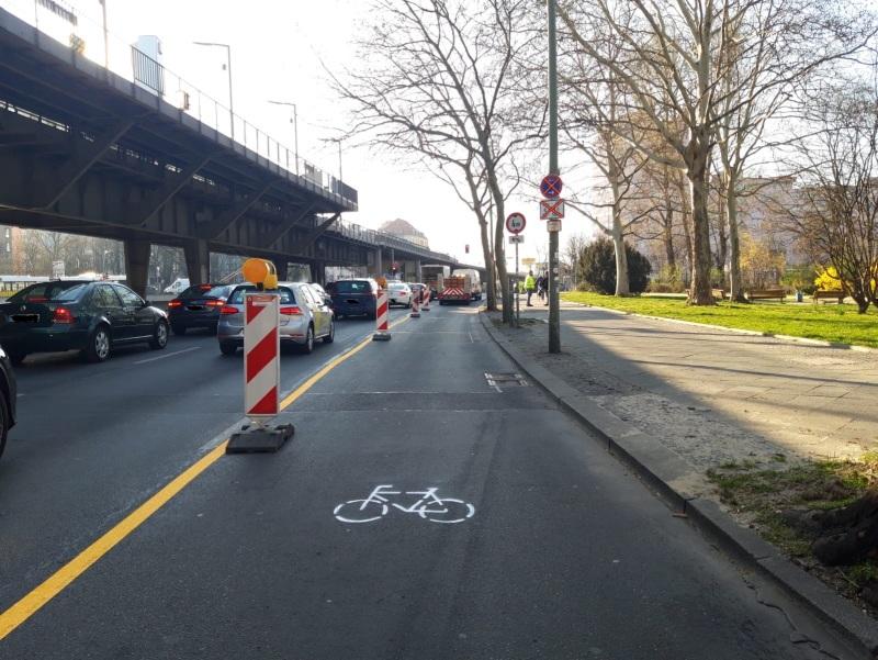 Breder fietspad Berlijn BEELD Berlin.de