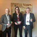 Sebastiaan, Karla en Jef hebben een MaaS-award gewonnen.