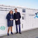 Pakketkluis izipack en evanet BEELD Provincie Zuid-Holland